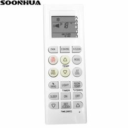 SOONHUA Control remoto universal de aire acondicionado de repuesto AKB73315601 Control remoto LCD de aire acondicionado para LG Air Conditioner desde fabricantes
