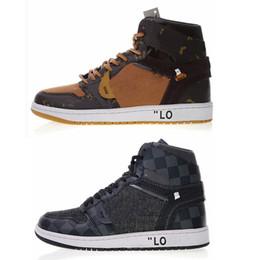 2018 Date 1 Chaussures De Basket-ball Italie Lois Marque De Luxe Baskets En Plein Air Baskets De Mode Pistes En Cuir Top Qualité ? partir de fabricateur