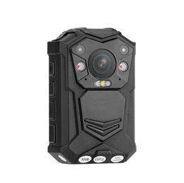 polizeikörper kameras Rabatt 1296 P HD Mini DV IR Nachtsicht Sport Kamera Wasserdichte Polizei Körper Kamera Eingebaute 2900mAH Batterie DVR Kamera und Eingebauter GPS Traker