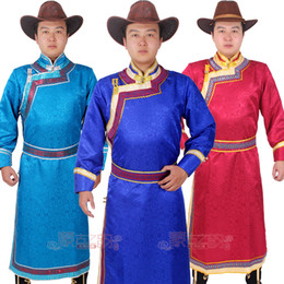 chinese costume male Canada - New Chinese national Costume Male gown grassland Traditional living outfit Mongolian  sc 1 st  China Wholesale & Chinese Costume Male Canada | Best Selling Chinese Costume Male from ...
