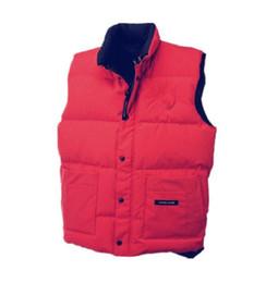 Argentina Nuevos hombres mujeres chaqueta chaleco engrosamiento exterior Canadá cálido hombre chaleco de plumas al aire libre mantener caliente y frío abrigo cheap cold tank Suministro