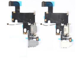 kameramodul iphone 5s Rabatt Original Reparatur Ersatzteile Endstück Flex Kabel für iPhone 6 Audio Flex Kabel Kopfhörer Flex Kabel Lade für iPhone6 Ersatz