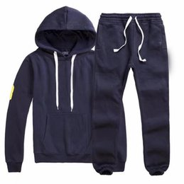 Wholesale cool sports hoodies sweatshirts - Men's Tracksuits polo Men Leisure Sport Suit Luxury Men's Sportswear Brand Hoodies Hip Hop Jogger Set Cool Sweatshirt Sudaderas Hombre