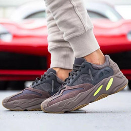 Argentina Caja + de alta calidad para las zapatillas deportivas Wave Runner Mauve 700 Brown para hombre Zapatillas Kanye West x Sports Designer Sneakers US5-11.5 supplier cheap runners shoes Suministro