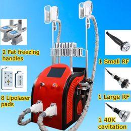 Wholesale diode laser cavitation - facial vacuum machine body slimming machine lipo laser diode cavitation rf body slimming machine for salon use