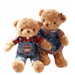 2019 boneca de bebês bonitos 22 cm Mini Urso De Pelúcia Recheado de Pelúcia Roxo Teddy Australia Lavanda Little Bear Boneca Muito Bonito para o Presente Do Bebê Macio boneca de bebês bonitos barato