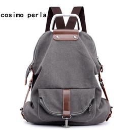 Nesitu Vintage High Quality Brown Genuine Leather Men Backpacks Mens Travel Bags Casual Daypacks Shoulder Bag M6408 Men's Bags Backpacks
