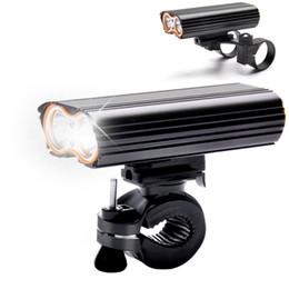 USB Recarregável Luz Da Bicicleta 2000LM MTB Lanterna de Segurança LED Bicicleta Frente Guiador Luzes + 2 Monte Titular Acessórios Do Ciclo de Fornecedores de acessórios lanterna verde