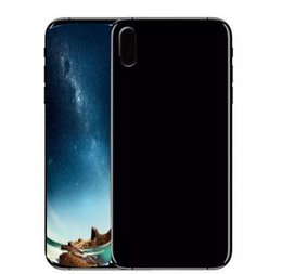 Wholesale english stock - Goophone ix 5.5 inch unlocked phone real 4GB rom show 256GB quad core fake 4g lte black white gold in stock