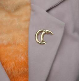 Mode wild übertrieben Metall Brosche Brosche Persönlichkeit Englisch golden Galaxy Boutonniere große Corsage von Fabrikanten