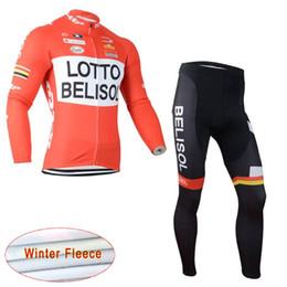 LOTTO Cycling Winter Thermal Fleece jersey (bib) pants sets Hot Sale Riding Suit  Warm Windproof Suit Men s Bike Wear c1726 88a2af914