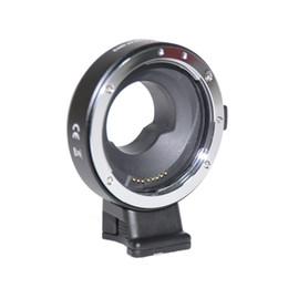 2019 caméra e Adaptateur de contrôle d'ouverture électronique JINTU EF-MFT pour caméra EOS EF EF-S vers caméra Micro 4/3 M4 / 3 GH3 GH4 caméra e pas cher
