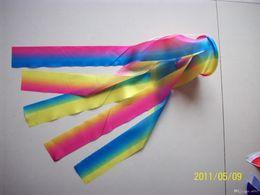2019 bandiera del vento Squisita luce del vento Streamer per le decorazioni della festa nuziale Stile giapponese carpa Winds Sock Bandiera poliestere manica a vento Koinobori Banner 8xm sconti bandiera del vento