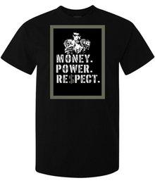 Деньги фильмы онлайн-Scarface Movie Money Power Respect Artwork мужчины (женщина в наличии) майка черная