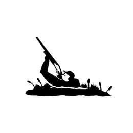 14.5 * 10 CM Açık Avcılık Okçuluk Dekor Araba Çıkartmaları Vinil Siluet Araba Dekor Aksesuarları Çıkartmaları supplier hunting decor nereden avcılık dekoru tedarikçiler