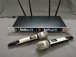 Deutschland Bester Klang 615-675 Mhz Zuverlässige Qualität Dual-Channel-UHF-Dual-Funkmikrofonsystem SKM9090 Audio-Soundsystem Versorgung