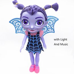 Wholesale United Toys - 2018 children's toys Europe and the United States vampire girl doll box packaging light with music 10 inch doll