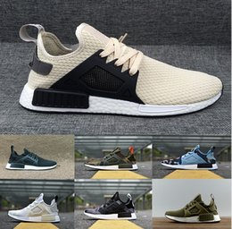 big sale 3312f 95cad 2018 Adidas NMD HU Pharrell sneakers Human Race Factory real Boost amarillo  rojo negro naranja hombres Pharrell Williams X humano raza R1 zapatos  casuales ...