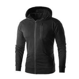 Wholesale Fashion Clothing Summer Youth - HOT 2018 Outdoor Spring summer hooded cardigan zipper pocket fleece youth jogging long-sleeve jacket men's clothes plus size 5XL