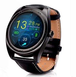 Wholesale Golden Fashion Watches For Men - Fashion K89 Smart Watch 1.2inch Round Screen 240*240 Smartwatch Heart Rate Monitor 300mah Watch for iphone IOS Android for Men women