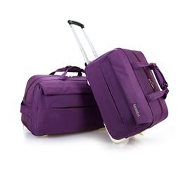 2018 Women Waterproof Trolley Luggage bag Rolling Suitcase Travel Bag  Rolling Suitcase Trolley Luggage lady Travel Bags 480ae9e87c07b
