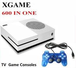 Gratuit x tv en Ligne-4GB HD X GAME Prise en charge de console de jeu HDMI Carte Micro SD 64 bits Console de jeu X-GAME HDMI Sortie AV pour GBA SFC NES MD ARCADE Livraison DHL gratuite
