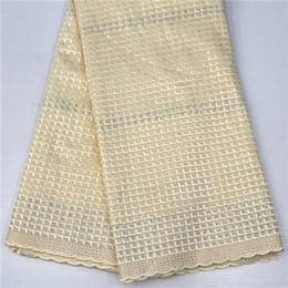 Wholesale dry laces - DOY1024 Swiss Voil Lace African Lace 2018, Gold Design African Swiss Lace, Dry Lace For Men MR1371B