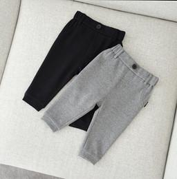 2019 leggings para niños 5t Ropa para niños Pantalones para niños 2018 Primavera y otoño Niños Chicas Harem Pantalones Pantalones de algodón de alta calidad Pantalones de bebé Leggings 2Colors venta al por mayor rebajas leggings para niños 5t