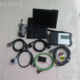 Wholesale laptop mb star diagnosis - for mb star c5 with laptop thinkpad x200t touch screen hdd 320gb windows7 for car and truck diagnosis