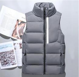 Canada 2018 nouvelle marque hommes hiver bas gilet plume weskit vestes hommes casual bas gilets manteau hommes veste gilet chemises M-XXL TN007F Offre