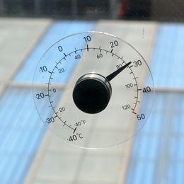 Argentina Aire libre Hogar Centígrados Termómetro analógico Medidor de monitoreo de temperatura Transparente Vidrio Pasta pegajosa Vidrio Suministro