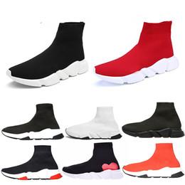 Balenciaga Triple-S Sneaker Scarpe calzino Paris di alta qualità Signor  Porter Original Women Mens scarpe casual Luxury Brand tessuto elasticizzato  Stivali ... 793bf79087a