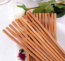 Wholesale chopstick bamboo - 500Pairs chopsticks Bamboo Chopsticks 24cm kitchen Dining bar Tableware bamboo eco friendly Chop Sticks
