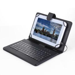 """Teclado de caneta on-line-NOVA Dobrável Dobrável Fólio Magnético PU Estojo De Couro Tampa Suporte Stand com Teclado Stylus Pen para Android 7 """"8"""" Polegada Tablet"""