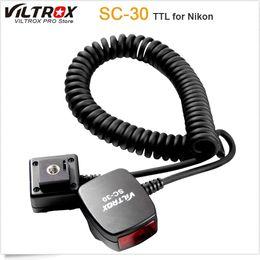 Telecamera ttl online-Viltrox SC-30 TTL Sync Cords Flash Luce off-camera Focus Assist Cable per DSLR Flash