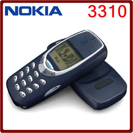 Wholesale Unlocked Cell Phone Gsm - Refurbished Original NOKIA 3310 Cell Phone GSM 900 1800 DualBand Games 4 Unlocked Cheap nokia phone