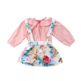 Cute Newborn Kids Baby Girl Sunsuit Clothing Sets Baby Girls Summer Tops  Floral Overalls Tutu Skirts Dress Bib Pants Clothes Set e1a322ada3fa