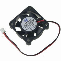Вентилятор 4 см 12v онлайн-Wholesale- 10PCS Gdstime 12V 2Pin 40mm 4cm 40x40x10mm Mini DC Brushless Cooler Fan Cooling For PC Computer