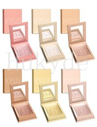 Wholesale French Wear - Kylighter Kylie Highlighters Kylie Cosmetics Strawberry Shortcake Candy Cream Salted Caramel Banana Split Kylighters French Vanilla