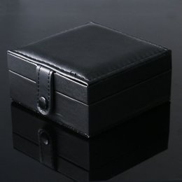 2019 orologi quadrati neri delle donne Scatola porta orologi da polso con quadrante nero di lusso con pad in gommapiuma