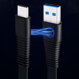 carga del portátil samsung Rebajas Conector macho magnético tipo C a USB 3.0 Cable de datos macho Puerto de sincronización de datos Cable de carga rápido para cargador de computadora portátil CAB267