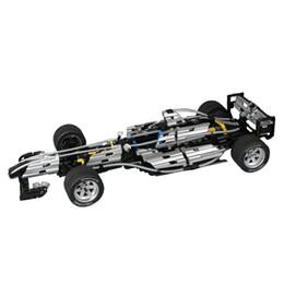 1482 piezas de la tecnología de bloque de construcción de deformación de grupo mecánico tractor F1 ecuación enchufe auto de construcción de coche dos modelos modelo de juguete desde fabricantes