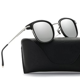 ef795ef3e51b 2018 BRAND NEW fashion colorful polarizing Sunglasses alloy frame glass  UV400 style high quality European fashion SPORTS model free shipping