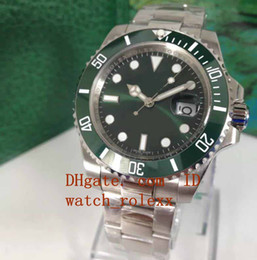 Wholesale good mechanical watches - good Mens New style Luxury 40mm Ceramic Bezel 116610 LN 116610LN 116610LV Blue Luminescent Asia 2813 Movement Automatic Mens Watch Watches