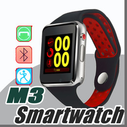 2019 наручные часы для телефона M3 смарт-наручные часы смарт-часы с 1,54-дюймовый сенсорный ЖК-экран для Android часы Smart SIM интеллектуальный мобильный телефон скидка наручные часы для телефона