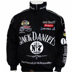 Wholesale Moto Auto - Free shipping Black for Jack Daniel jacket men MOTO GP motorcycle auto f1 men man jackets coat