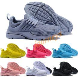 purchase cheap 1d311 a15d4 2018 Descuento al por mayor Presto 5 gris púrpura blanco puro Ultra Runner  hombres de las mujeres zapatillas deportivas Classic Sport Sneakers  descuento ...