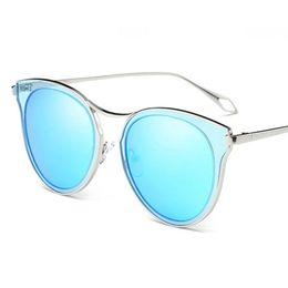 Canada Femmes d'été lunettes de soleil rondes dames en métal lunettes de soleil vintage marque designer mode Lunettes de soleil polarisées pour fête plage et shopping supplier eyewear shop Offre