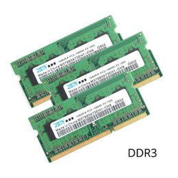 Wholesale 4gb ddr3 memory - DDR3 laptop 1.35V RAM 2GB 4GB 8GB 16GB computer memory 1333MHz 1600MHz for mini pc motherboard