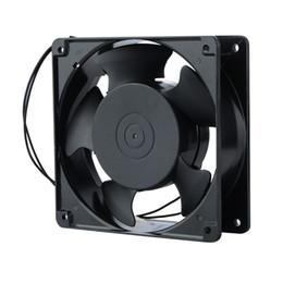 Wechselstromkühler online-1 Stück Ersatz Kühler Lüfter 12038 120x38mm 12 cm 120mm 220 V 240 V AC Lüfter Metall